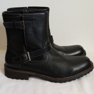 New Lucky Brand Black Leather Boots